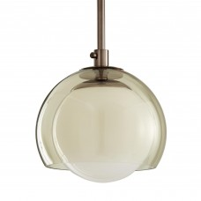 Arteriors 49129 Kayla 1 Light 10 inch Brown Nickel Ceiling Pendant