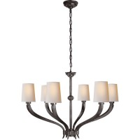 Visual Comfort CHC2462BZ-NP E. F. Chapman Ruhlmann 6 Light 35 inch Bronze Chandelier Ceiling Light
