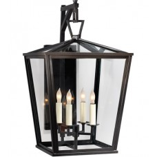 Visual Comfort CHO2085BZ E. F. Chapman Darlana 4 Light 21 inch Bronze Outdoor Wall Lantern