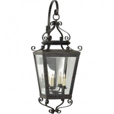 Visual Comfort NW2703FR-CG Niermann Weeks Lafayette 4 Light 39 inch French Rust Outdoor Wall Lantern