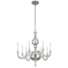 Visual Comfort RL5016CG Ralph Lauren Georgina Medium Chandelier In Crystal
