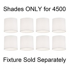 Robert Abbey 4500N Delany Oyster Linen 36 inch Shade