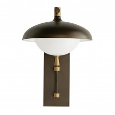 Arteriors 49200 Stanwick 1 Light 13 Inch Outdoor Sconce in Aged Brass
