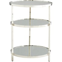 Arteriors 6910 Percy 19 inch Polished Nickel End Table