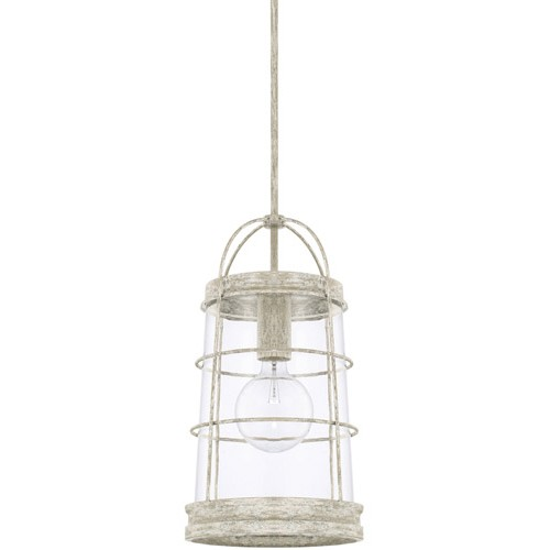 Capital Lighting 327412MS Beaufort 1 Light 11 Inch Mystic Sand Pendant  Ceiling Light