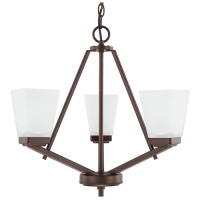Capital Lighting 414431BZ-334 HomePlace 3 Light 20 inch Bronze Chandelier Ceiling Light