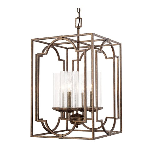 Capital Lighting 517641rt 376 Avanti 4 Light 15 Inch Rustic