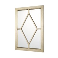 Capital Lighting 716201MM Signature 42 X 30 inch Winter Gold Wall Mirror