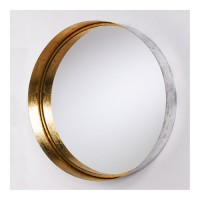 Capital Lighting 723301MM Signature 36 X 36 inch Wall Mirror, Round