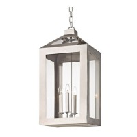 Crystorama 6054-PN Hurley 4 Light 14 inch Polished Nickel Chandelier Ceiling Light