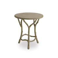 Currey & Company 2373 Hidcote 22 X 20 inch Portland Side Table