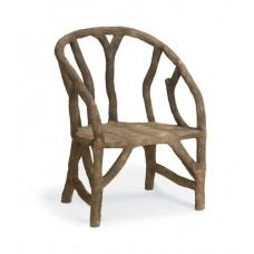 Currey & Company 2701 Arbor Faux Bois Chair