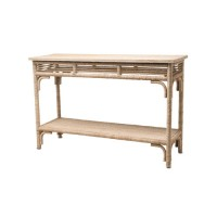 Currey & Company 3000-0012 Olisa 48 X 16 inch Natural Console Table