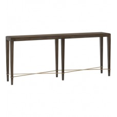 Currey & Company 3000-0116 Verona 76 inch Chanterelle and Champagne Console Table