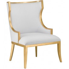 Currey & Company 7000-0841 Garson Antique Gold Accent Chair