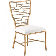 Currey & Company 7000-0951 Vinton Guilt Bronze Dining Chair