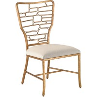 Currey & Company 7000-0952 Vinton Guilt Bronze Dining Chair