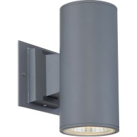 EuroFase 30347-014 Signature LED 9 inch Metal Outdoor Wall Sconce