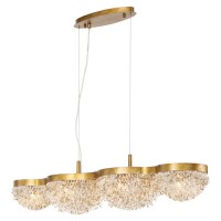 EuroFase 31832-014 Mondo 10 Light 11 inch Antique Gold Chandelier Ceiling Light