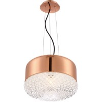 EuroFase 31869-034 Corson 1 Light 14 inch Gold Pendant Ceiling Light