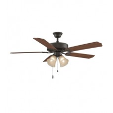 Fanimation BP210OB1 Aire Decor 52 inch Oil-Rubbed Bronze with Cherry/Walnut Blades Ceiling Fan