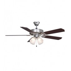 Fanimation BP210SN1 Aire Decor 52 inch Satin Nickel with Cherry/Walnut Blades Ceiling Fan