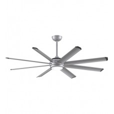 Fanimation MAD7997SLW Stellar Custom Silver Ceiling Fan Motor, Blades Sold Separately