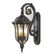 Feiss OL6004WAL Baton Rouge 4 Light 30 inch Walnut Outdoor Wall Sconce