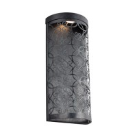 Feiss WB1815DWZ-LED Arramore LED 17 inch Dark Weathered Zinc Outdoor Wall Lantern