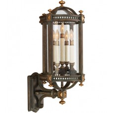 Fine Art Lamps 564781ST Beekman Place 5 Light 32 inch Brown Outdoor Wall Sconce