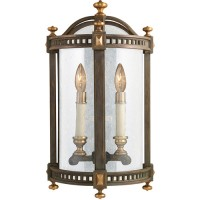 Fine Art Lamps 565081ST Beekman Place 2 Light 20 inch Brown Outdoor Coupe