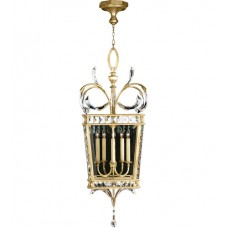 Fine Art Lamps 768340ST Beveled Arcs 5 Light 32 inch Gold Lantern