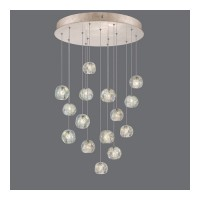 Fine Art Lamps 853140-206ST Natural Inspirations 15 Light 21 inch Gold Drop Light Ceiling Light