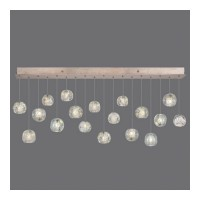 Fine Art Lamps 863040-206ST Natural Inspirations 18 Light 54 inch Gold Drop Light Ceiling Light