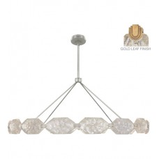 Fine Art Lamps 873140-21ST Allison Paladino LED 74 inch Gold Pendant Ceiling Light