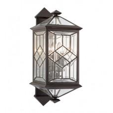 Fine Art Lamps 881081ST Oxfordshire 4 Light 28 inch Bronze Outdoor Wall Sconce