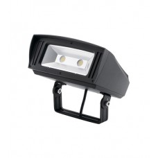 Kichler 16225BKT30TR C-Series 120-277V 85 watt Textured Black Outdoor Flood Light, Large