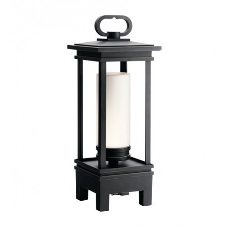 Kichler 49473RZLED South Hope 19 X 6 inch Rubbed Bronze Portable LED Lantern, with Bluetooth Speaker