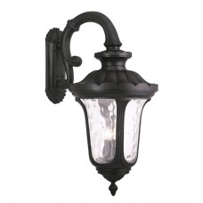 Livex 78701-04 Oxford 4 Light 35 inch Black Outdoor Wall Lantern