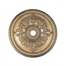 Livex 8211-65 Ceiling Medallion Vintage Gold Leaf Accessory