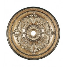 Livex 8228-65 Ceiling Medallion Vintage Gold Leaf Accessory