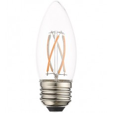 Livex 960415X60 Signature LED B11 Torpedo E26 Medium Base 4 watt 3000K Light Bulb, Pack of 60
