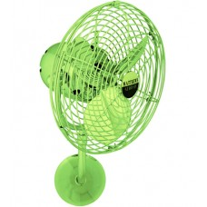 Matthews Fan Co MP-LTGREEN-MTL Michelle Parede 16 inch Jade Outdoor Wall Fan, Directional