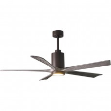 Matthews Fan Co PA5-TB-BW-60 Patricia-5 60 inch Textured Bronze with Barn Wood Blades Paddle Ceiling Fan