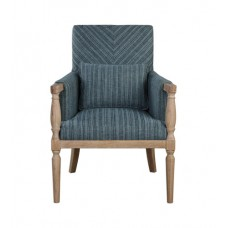 Uttermost 23362 Seamore Armchair, Pattern, Matthew Williams