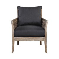Uttermost 23366 Encore Dark Gray Armchair, Matthew Williams