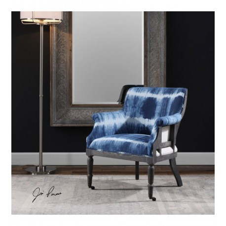 Uttermost 23385 Royal Oat Wood Accent Chair