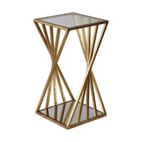 Uttermost 24723 Janina 25 X 13 inch Gold End Table, Matthew Williams