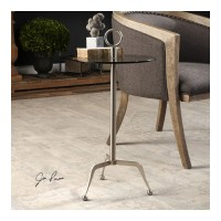 Uttermost 24751 Astro 29 X 14 inch Stainless Steel End Table