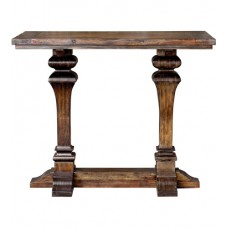 Uttermost 25894 Percy Burnished Dark Walnut Bar Table